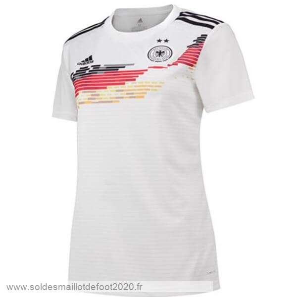 Maillot France Foot Domicile Maillot Femme Alemania 2019 Blanc