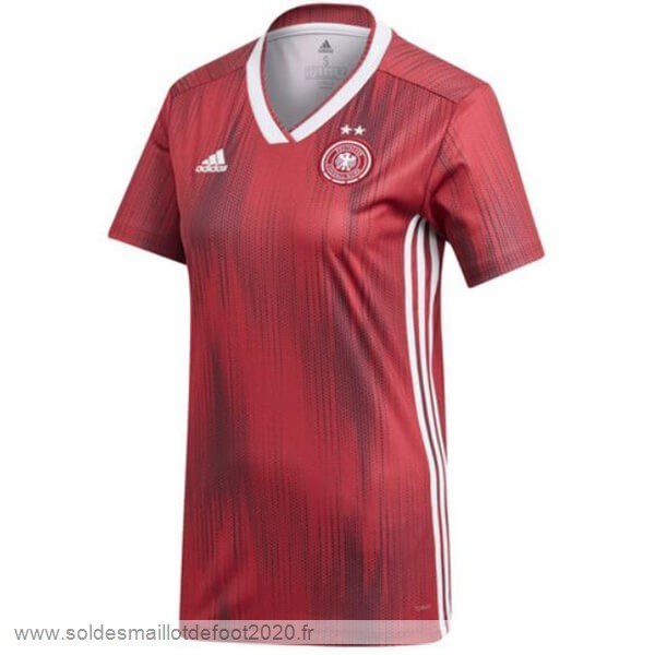 Maillot France Foot Exterieur Maillot Femme Alemania 2019 Rouge