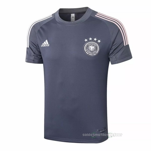 Maillot France Foot Entrainement Allemagne 2020 Gris