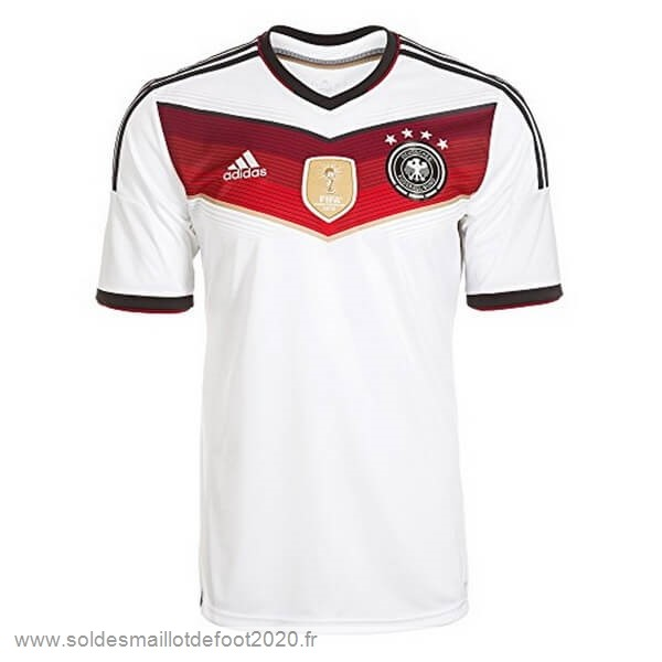 Maillot France Foot Domicile Maillot Alemania Rétro World Cup 2014 Blanc