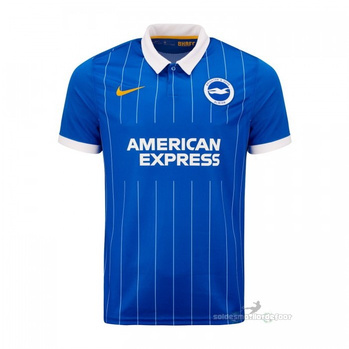 Maillot France Foot Casa Camiseta Brighton 2020 2021 Bleu