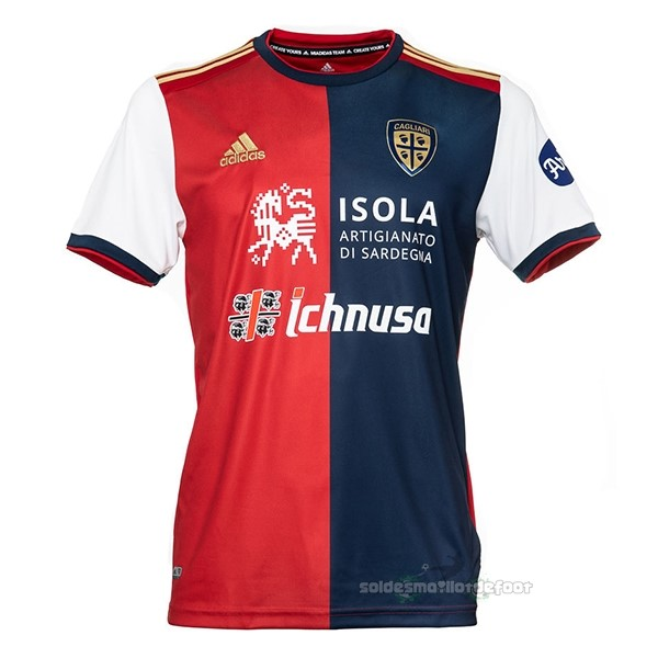Maillot France Foot Domicile Maillot Cagliari Calcio 2020 2021 Rouge
