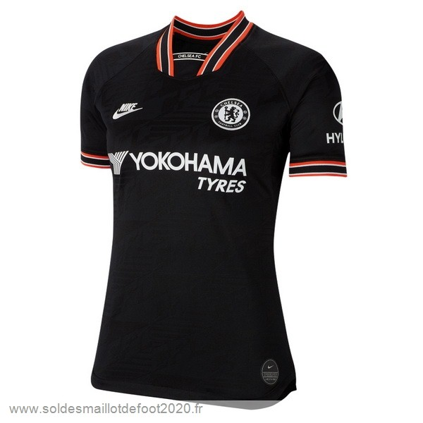 Maillot France Foot Third Maillot Femme Chelsea 2019 2020 Noir
