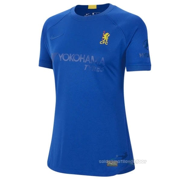 Maillot France Foot Maillot Femme Chelsea 50th Bleu