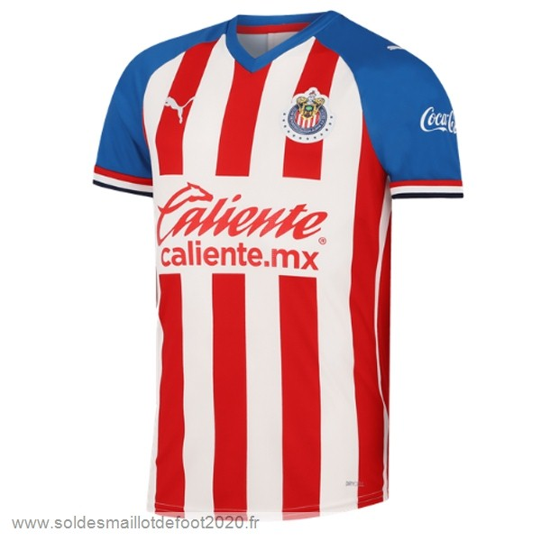 Maillot France Foot Domicile Maillot Chivas USA 2019 2020 Rojo