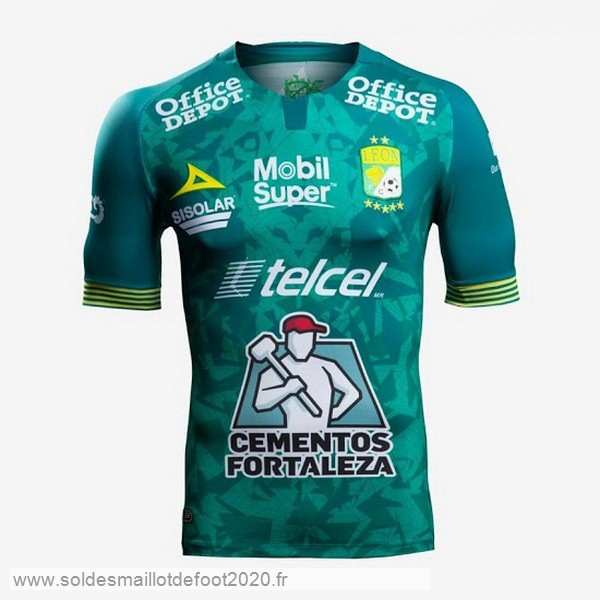 Maillot France Foot Domicile Maillot Club León 2019 2020 Vert