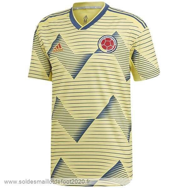 Maillot France Foot Domicile Maillot Colombia 2019 Jaune