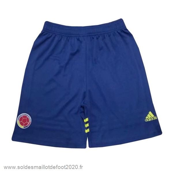 Maillot France Foot Domicile Pantalon Colombia 2019 Bleu
