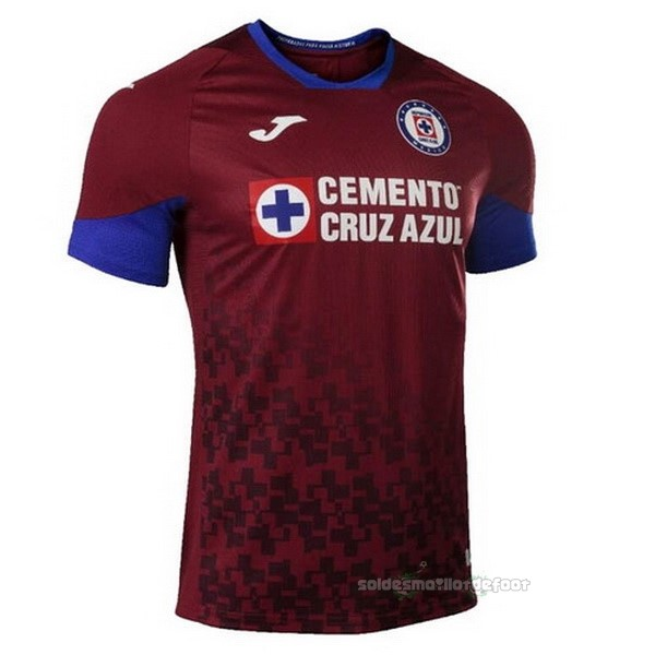 Maillot France Foot Third Maillot Cruz Azul 2020 2021 Rouge