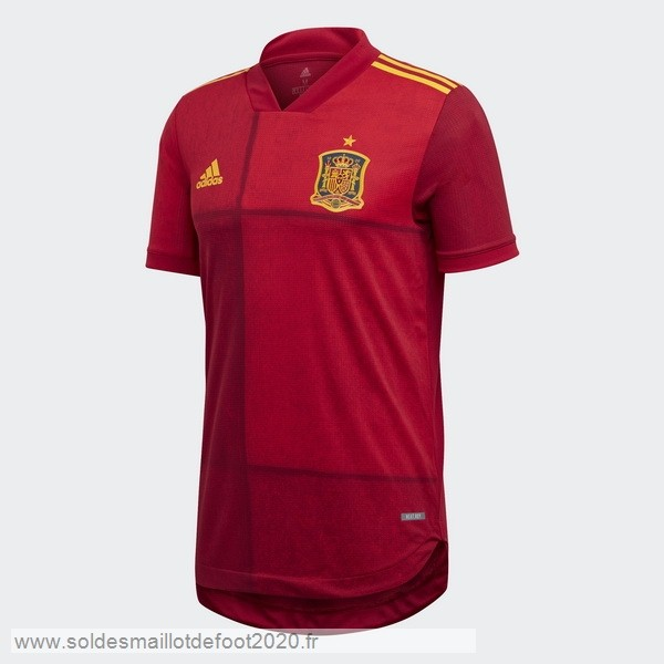 Maillot France Foot Domicile Maillot Espagne 2020 Rojo