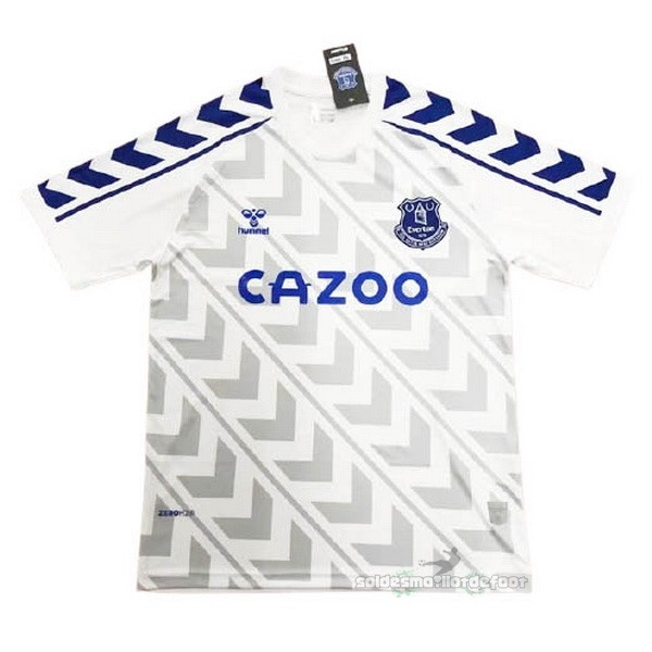 Maillot France Foot Entrenamiento Everton 2020 2021 Blanc