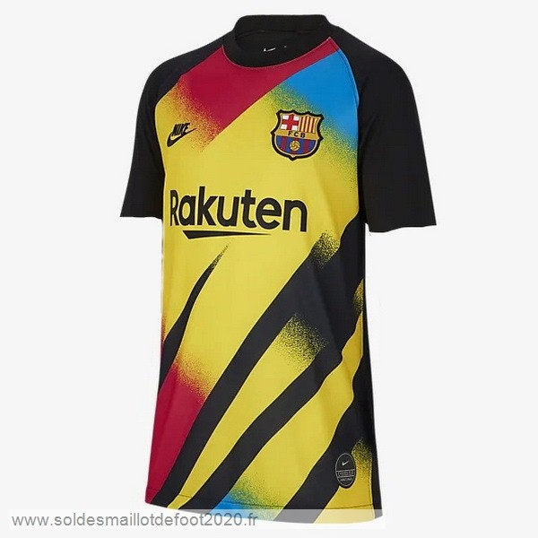 Maillot France Foot Maillot Gardien Barcelona 2019 2020 Jaune