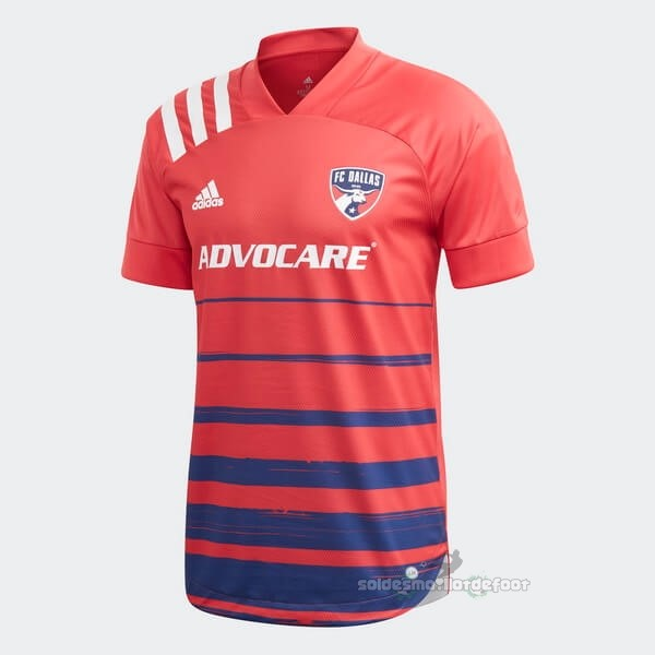 Maillot France Foot Domicile Maillot FC Dallas 2020 2021 Rouge