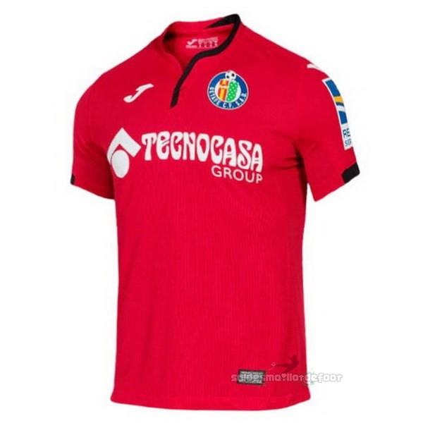 Maillot France Foot Exterieur Maillot Getafe 2020 2021 Rouge