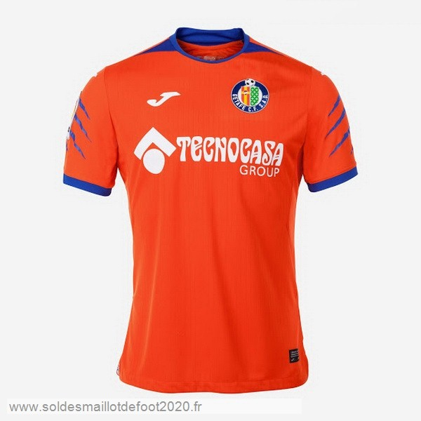 Maillot France Foot Thailande Exterieur Maillot Getafe 2019 2020 Orange