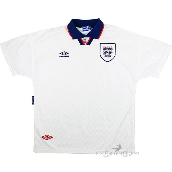Maillot France Foot Domicile Maillot Angleterre Rétro 1994 Blanc