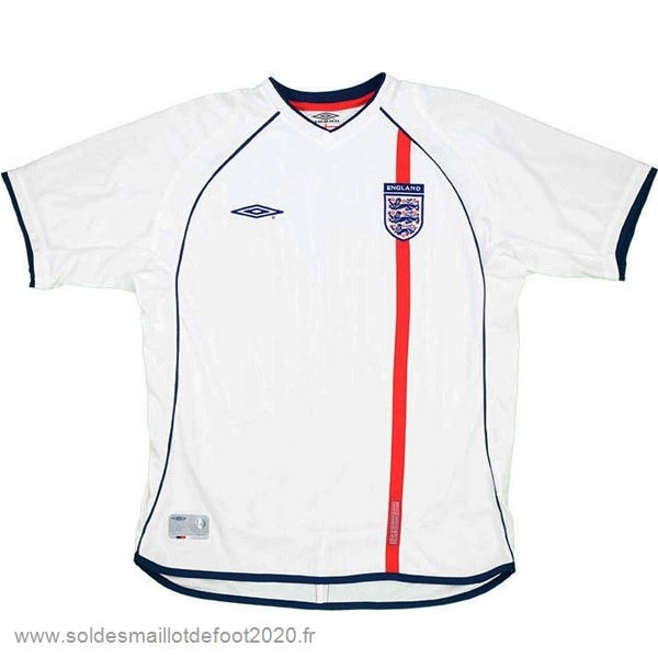 Maillot France Foot Domicile Maillot Inglaterra Rétro 2002 Blanc
