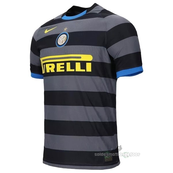 Maillot France Foot Third Maillot Inter Milán 2020 2021 Gris