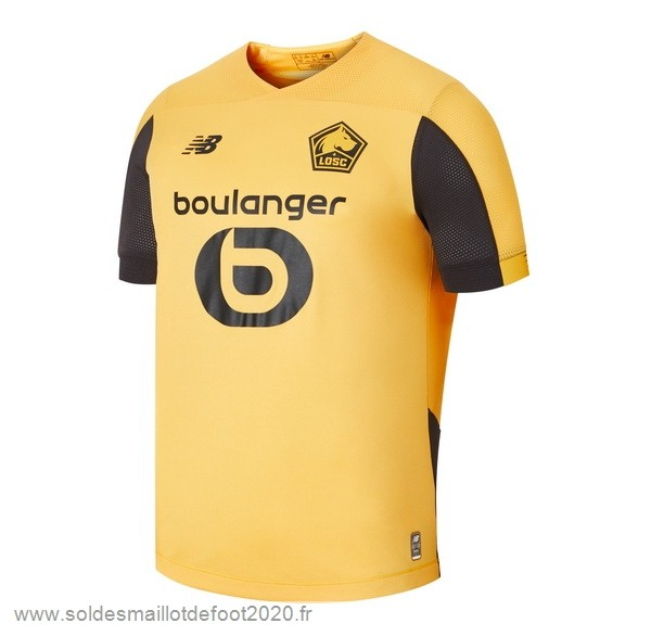 Maillot France Foot Exterieur Maillot Lille 2019 2020 Jaune