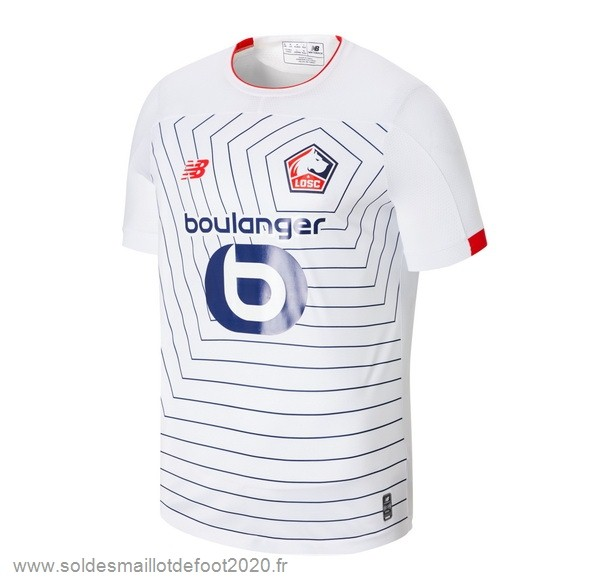 Maillot France Foot Third Maillot Lille 2019 2020 Blanc