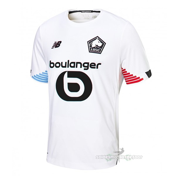 Maillot France Foot Third Maillot Lille 2020 2021 Blanc