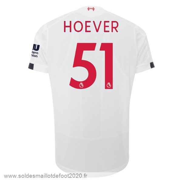 Maillot France Foot NO.51 Hoever Exterieur Maillot Liverpool 2019 2020 Blanc