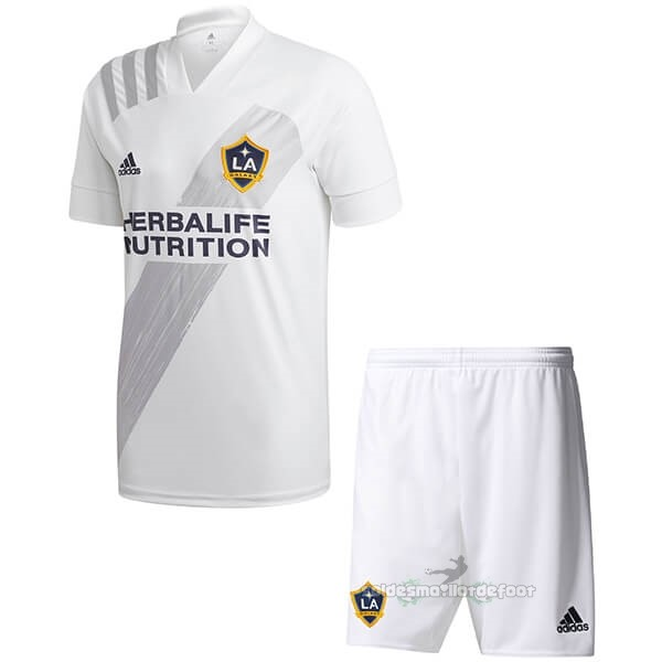 Maillot France Foot Domicile Ensemble Enfant Los Angeles Galaxy 2020 2021 Blanc