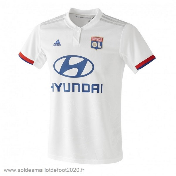 Maillot France Foot Domicile Maillot Lyon 2019 2020 Blanc