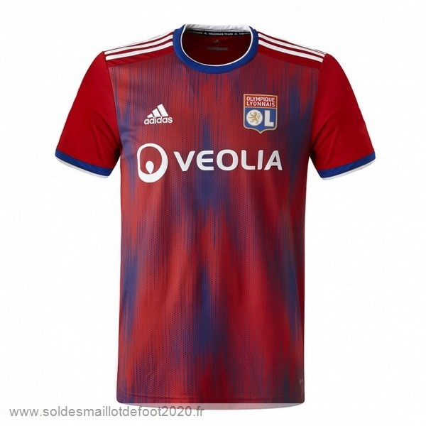 Maillot France Foot Third Maillot Lyon 2019 2020 Rouge