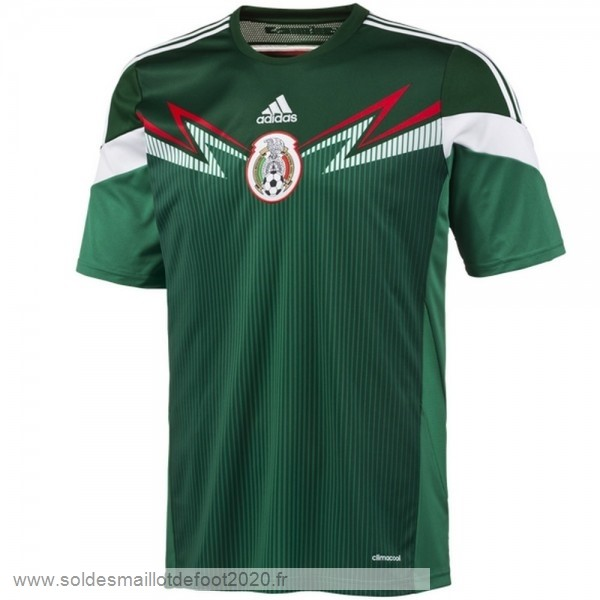 Maillot France Foot Domicile Maillot Mexico Rétro 2014 Vert