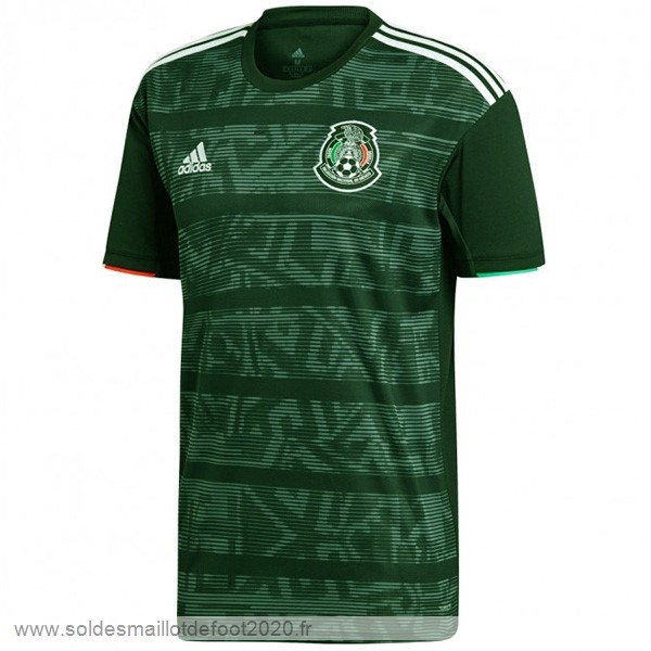 Maillot France Foot Thailande Exterieur Maillot Mexico 2019 Vert