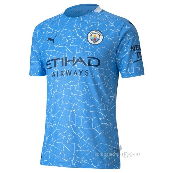 Maillot France Foot Domicile Maillot Manchester City 2020 2021 Bleu