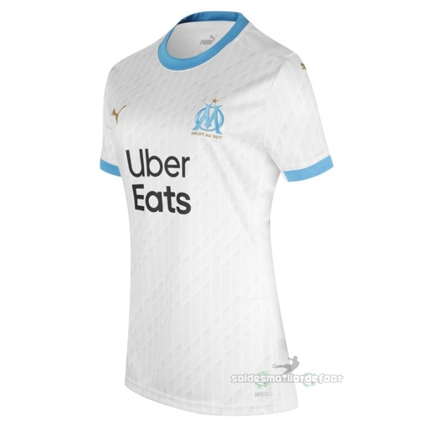Maillot France Foot Domicile Maillot Femme Marseille 2020 2021 Blanc