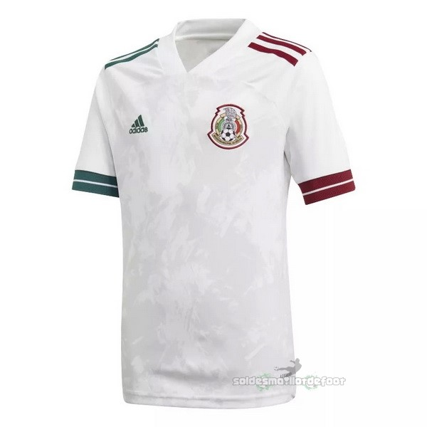 Maillot France Foot Exterieur Maillot Mexico 2020 Blanc