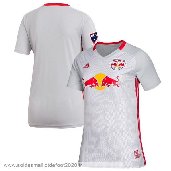 Maillot France Foot Domicile Maillot Femme Red Bulls 2019 2020 Blanc