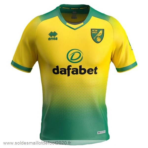 Maillot France Foot Domicile Maillot Norwich City 2019 2020 Vert