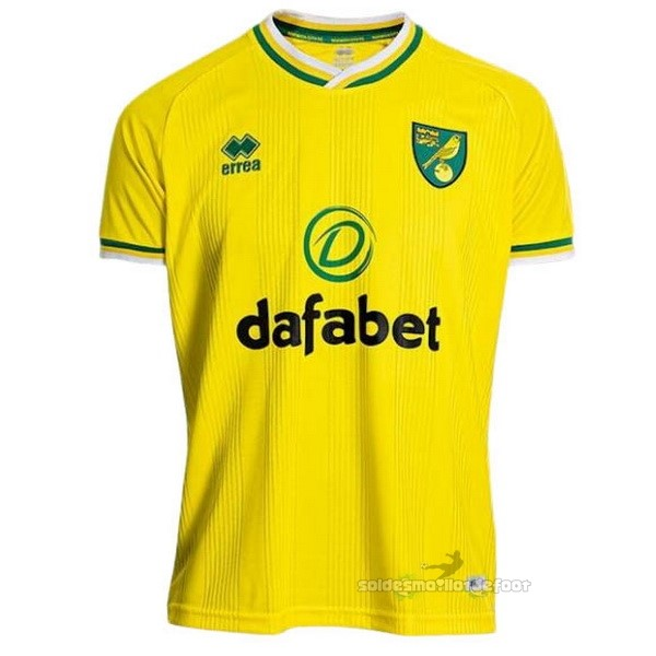 Maillot France Foot Domicile Maillot Norwich City 2020 2021 Jaune