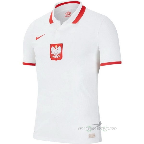 Maillot France Foot Domicile Maillot Pologne 2020 Blanc
