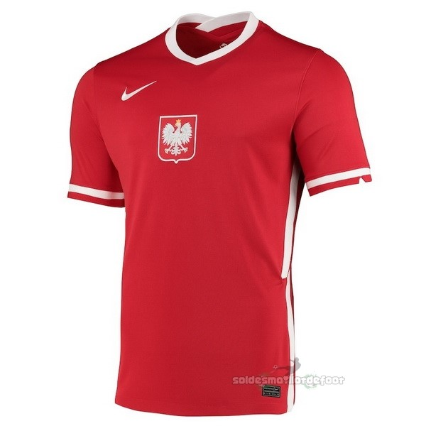 Maillot France Foot Exterieur Maillot Pologne 2020 Rouge