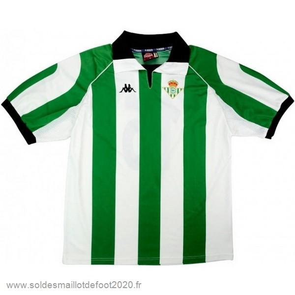 Maillot France Foot Maillot Real Betis Rétro 1998 1999 Vert