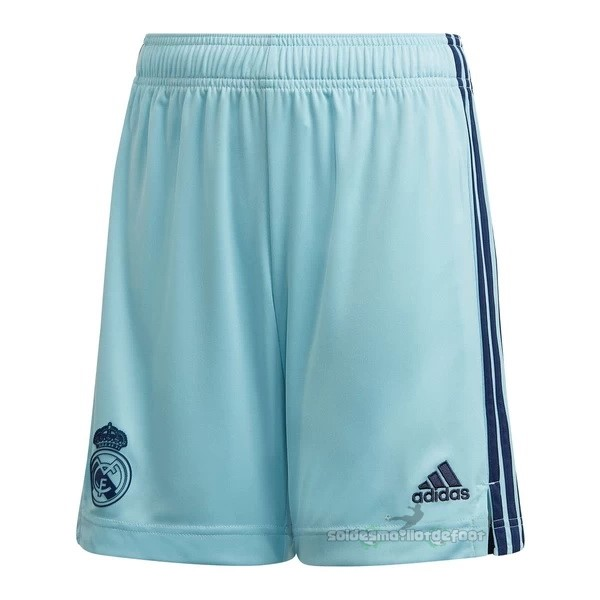 Maillot France Foot Domicile Gardien Pantalon Real Madrid 2020 2021 Bleu