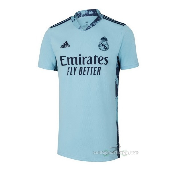 Maillot France Foot Domicile Maillot Gardien Real Madrid 2020 2021 Bleu