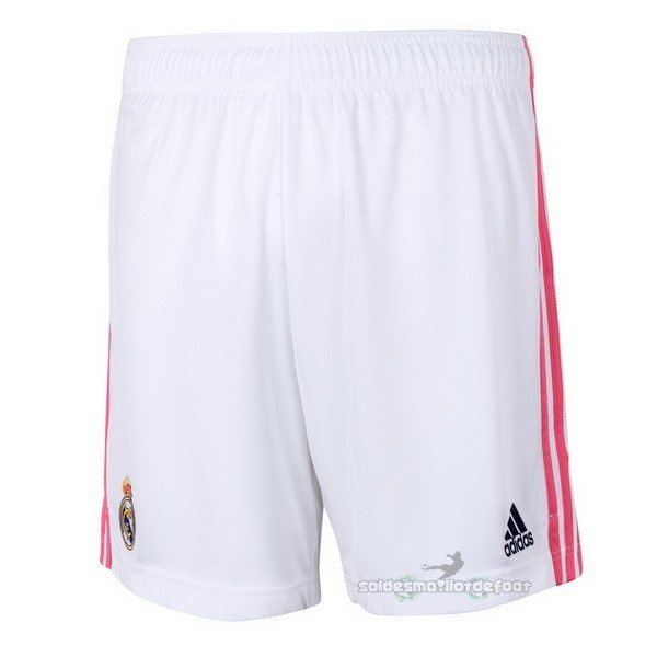 Maillot France Foot Domicile Pantalon Real Madrid 2020 2021 Blanc