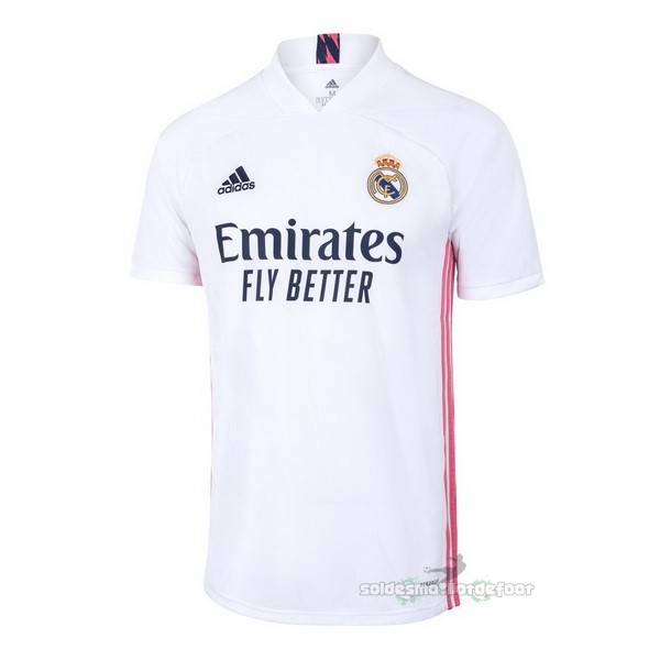 Maillot France Foot Thailande Domicile Maillot Real Madrid 2020 2021 Blanc