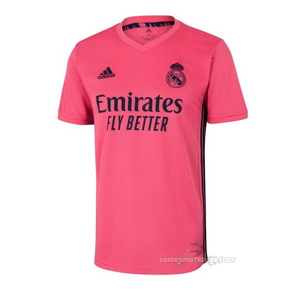 Maillot France Foot Thailande Exterieur Maillot Real Madrid 2020 2021 Rose