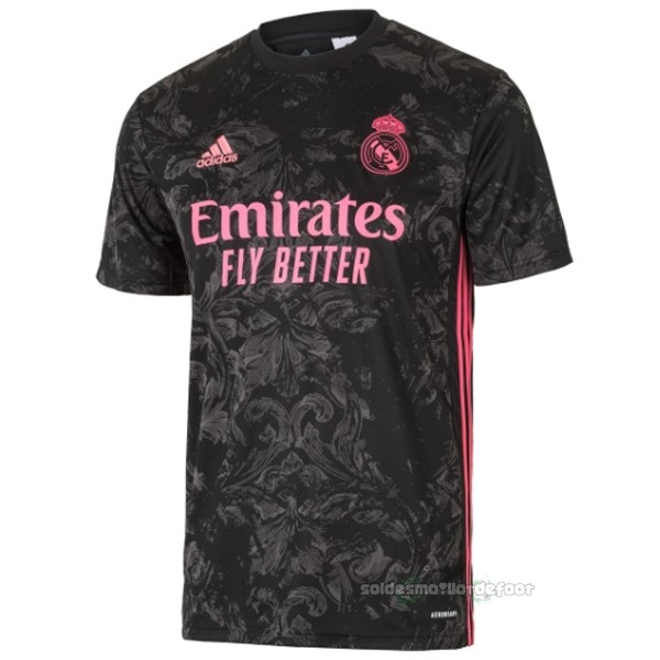Maillot France Foot Thailande Third Maillot Real Madrid 2020 2021 Noir