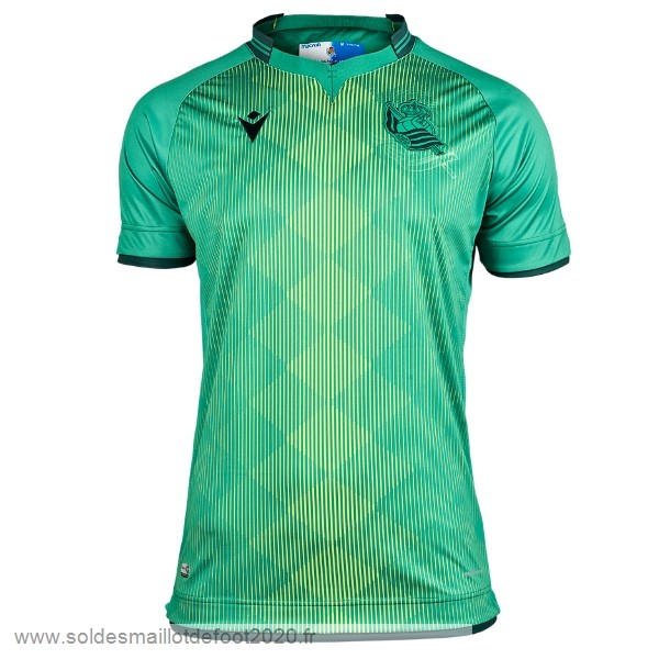 Maillot France Foot Exterieur Maillot Real Sociedad 2019 2020 Vert