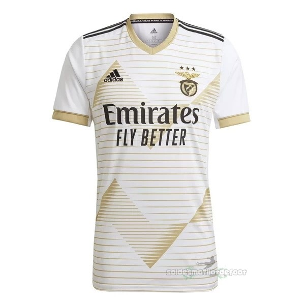 Maillot France Foot Third Maillot Benfica 2020 2021 Blanc