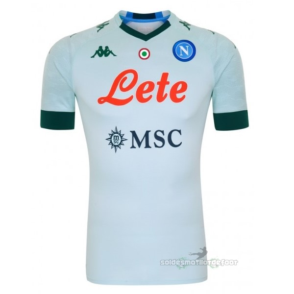 Maillot France Foot Exterieur Maillot Napoli 2020 2021 Vert
