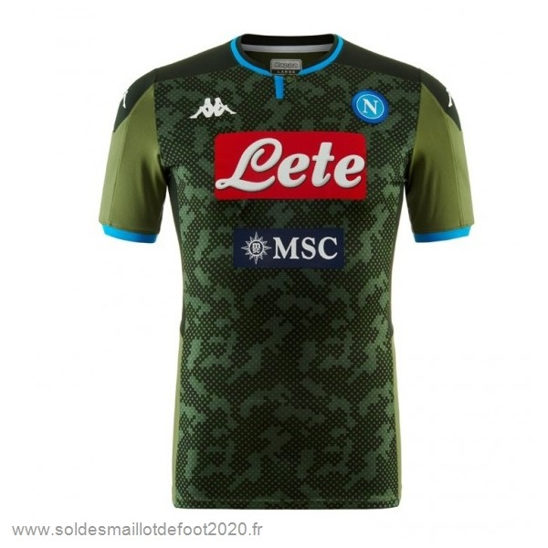 Maillot France Foot Exterieur Maillot Napoli 2019 2020 Vert
